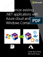 Modernize Existing .NET Applications With Azure Cloud and Windows Containers (eBook)