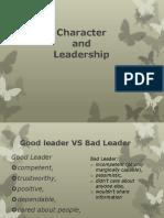 Character and Leadership