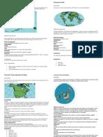Proyección cartograficas