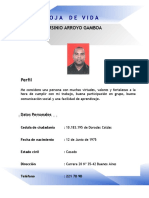 Jarsinio Arroyo Gamboa