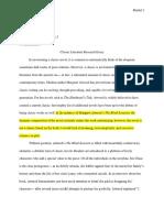 classic novel research essay  1