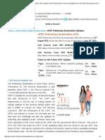 UPSC Exam 2015, Prelims Syllabus IAS 2015, UPSC Syllabus, UPSC Prelims 2015, Civil Services Aptitude Test, CSAT 2015, IAS Preliminary Exam 2015