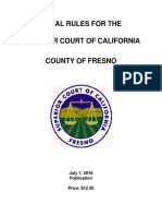 Fresno County Local Rules 07-01-16
