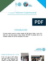 Informe Club Interact Sánchez