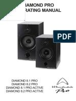 Wharfedale Diamond 8.1 Studio PRO-Activ