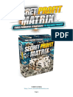 Secret Profit Matrix