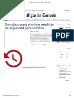 El Siglo de Torreón, Lunes 18 de Diciembre, 2017