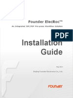 Founder ElecRoc 6 Installation Guide