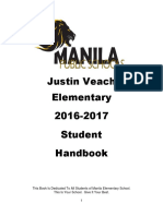 Elementary School Student Handbook 2016 2017