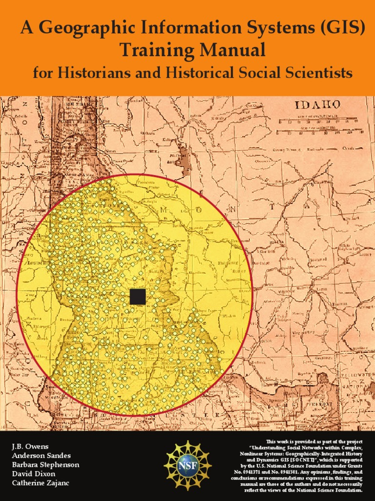 A Geographic Information Systems (GIS) Training Manual for