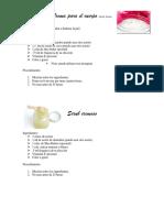 Body Lotion y Scrub Cremoso