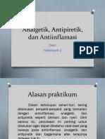 Analgetik, Antipiretik, Dan Antiinflamasi