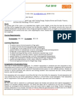 UT Dallas Syllabus for ee3320.001.10f taught by Dinesh Bhatia (dinesh)