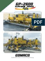 Gp2600 Brochure