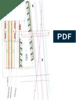 Layout Design Stasiun Bandara Model