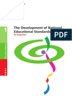 The Development of National Educationel Standards