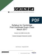 FCE Exam Teacher's Guide