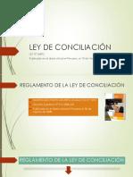 Ley de Conciliación