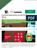 Comment Désimlocker Les Clés 3G Mobilis Et Djezzy - Android-DZ