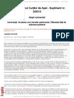 Curtea de Apel Cluj Sectia a II a Civila de Contencios Administrativ Si Fiscal Decizia Nr 8505 Din 13 Septembrie 2013
