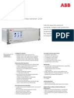 Line Protection 6000 Series, PSL Series Version 1.00 Factsheet 4CAE000361 RevA