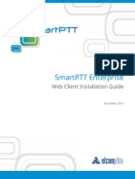 SmartPTT Enterprise 9.2 Web Client Installation Guide