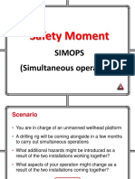 Safety Moment - SIMOPS Gas Venting