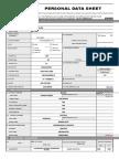 032117 CS Form No. 212 Revised Personal Data Sheet
