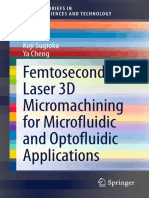 Femtosecond Laser 3D Micromatching for Microfluidic and Optofluidic Applications