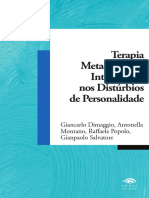 Terapia Metacognitiva Interpessoal Na P Da Personalidade