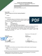 Surat 188 Peminjaman HT CC