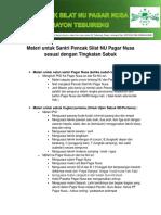 Materi Santri Dan Pelatih PSNU Pagar Nusa