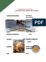 Liberacion y Tiempo de Molienda 2014-II