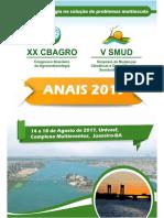 Modelagem da evapotranspiração no Perímetro Irrigado Pontal Sul