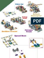 52 Model Building Set Web Models 8 13465