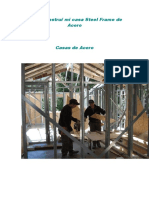 Como Construí Mi Casa Steel Frame de Acero