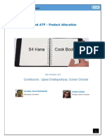 Cookbook Advanced ATP - Product Allocation V2