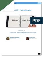 Cookbook Advanced ATP - Product Allocation V2