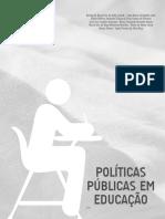 Políticas Públicas Em Educação Unidade 01