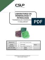 Mineralogía y Petrología. Laboratorio 6