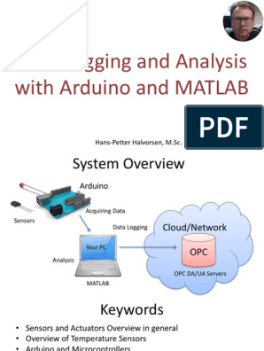 Data Logging and Analysis With Arduino and MATLAB
