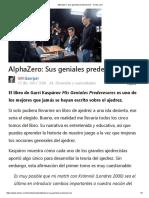 AlphaZero_ Sus Geniales Predecesores - Chess
