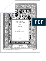 Toccata - Free Sheet Music by Alcock