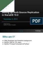 Setting Up Multi-source Replication in MariaDB 10