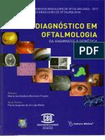 Capa - Diagnóstico em Oftalmologia da Anamnese à genética