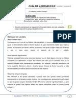 Guia de Aprendizaje Cnaturales 1basico Semana 03 2015