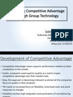 Competitive Advantage Group 7