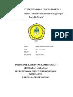 Makalah Sistem Informasi Laboratorium II