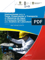 2011 Manual Toma de Muestras Agua