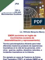 Psicoterapia EMDR descripción básica. Wilfredo Marquina Mauny